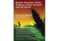 free vegetarian poster